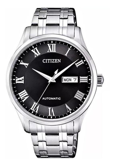 Relógio Citizen Masculino Automático Fundo Preto - Tz20797t