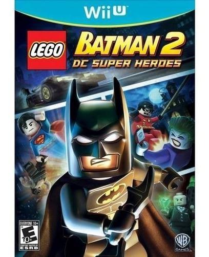 Wiiu -lego Batman 2 - Midia Fisica - Novo