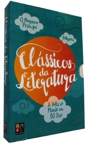Box Clássicos Da Literatura 3 Volumes Literatura Juvenil