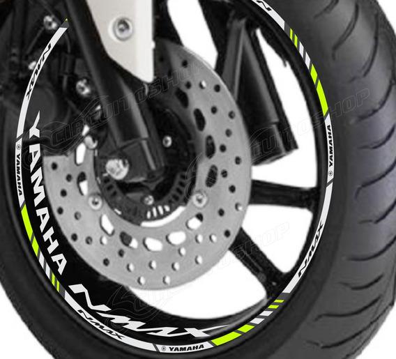 Friso + Adesivo Interno Refletivo M3 Roda Yamaha Nmax 160