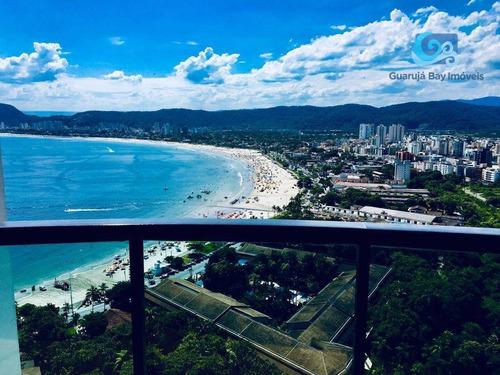 Imagem 1 de 30 de Cobertura À Venda Condomínio Tortugas - Praia Da Enseada - Guarujá - Co0302