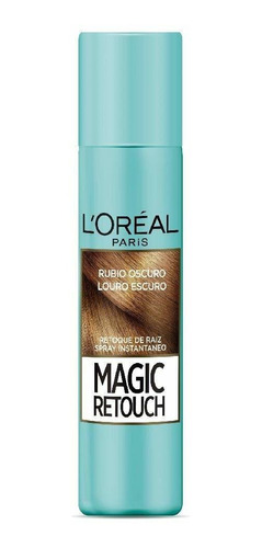 Spray Retocador De Raíz L'oréal Paris Magic Retouch Rubio Os