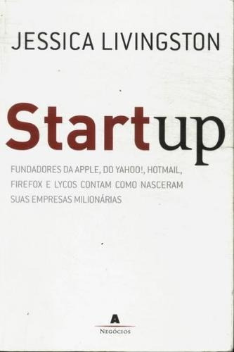 Livro Startup Jessica Livingston
