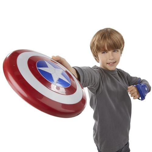 Escudo De Capitán América Con Luz Y Sonido !