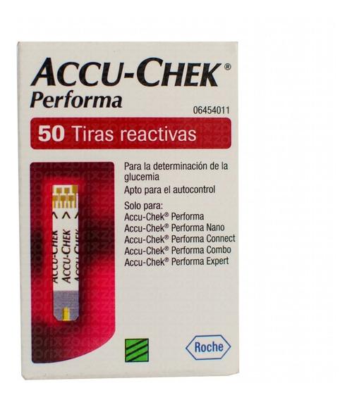 Accu-chek Performa 1 Frasco 50 Tiras
