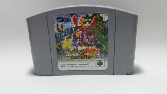 Banjo Kazooie N64 - Nintendo 64 Original Japonesa N64