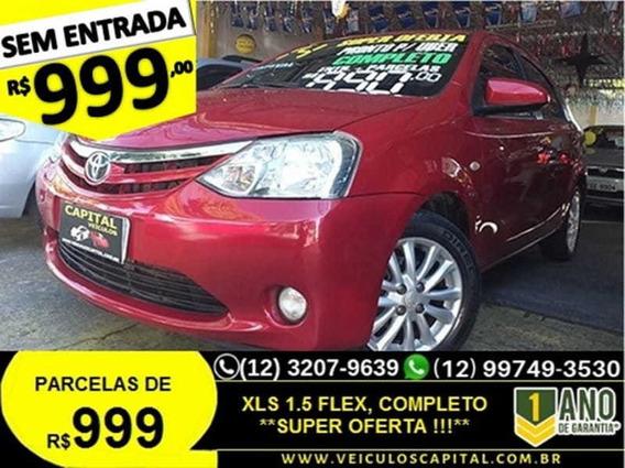Toyota Etios Sedan Xls 1.5 2014