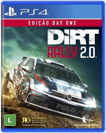Dirt Rally 2.0 Ps4 Mídia Física Novo Lacrado Pronta Entrega