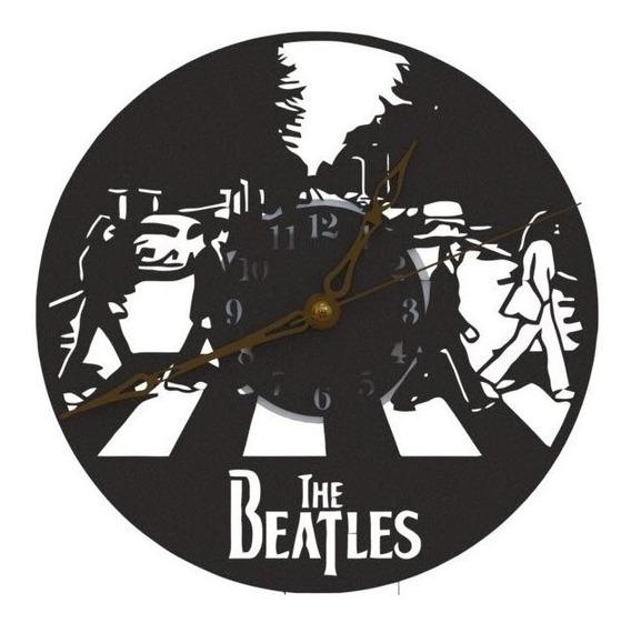 Reloj De Pared The Beatles Analógico 20cm