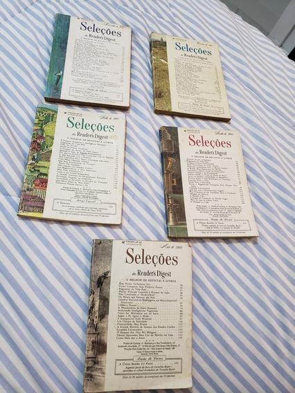 Kit 5 Revistas Seleções 1966
