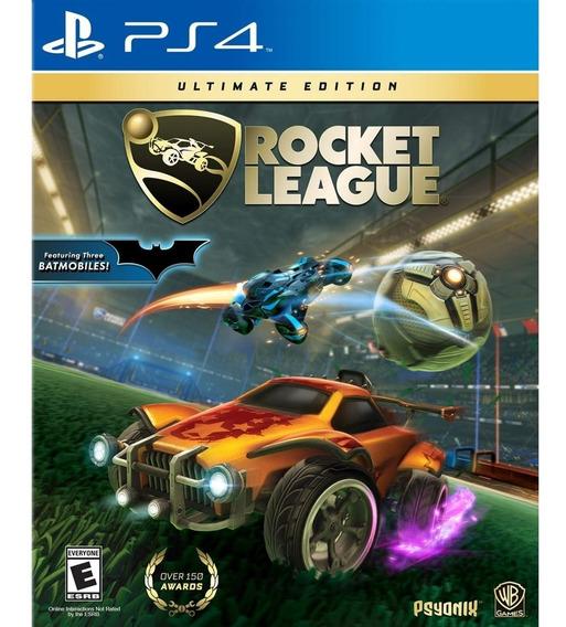 Rocket League Ultimate Edition Ps4 Mídia Física Novo Lacrado