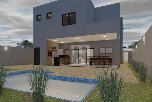 Imagem 1 de 14 de Casa Com 4 Dormitórios À Venda, 273 M² Por R$ 1.350.000 - Bonfim Paulista - Cravinhos/são Paulo - Ca0491