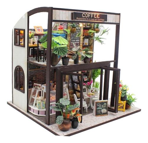 Imagen 1 de 6 de 1:24 Diy Dollhouse Kit En Miniatura Viaje En El Tiempo