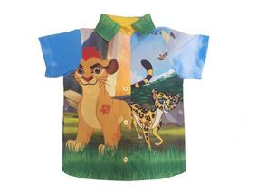Kit Família Guarda Do Leão Festa Infantil Vestidos E Camisas