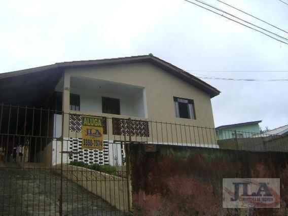 Casa Com 3 Dormitórios Para Alugar, 120 M² Por R$ 800,00/mês - Pilarzinho - Curitiba/pr - Ca0110
