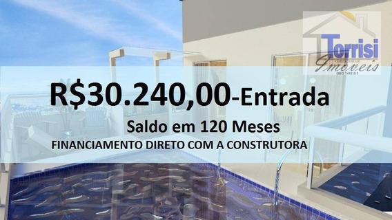 Apartamento Em Praia Grande, Flat 01 Dormitório, Boqueirão Ap1604 - Ap1604