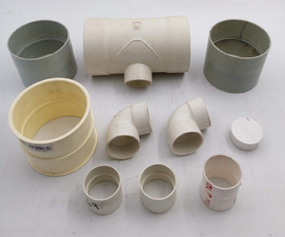 Welltobuy 5 Piezas 16mm PVC Esquina Accesorio PVC Codo Esquina Salida Lateral tee Montaje PVC Codo Accesorios para Muebles Grado Invernadero Invernadero tuber/ía Accesorios