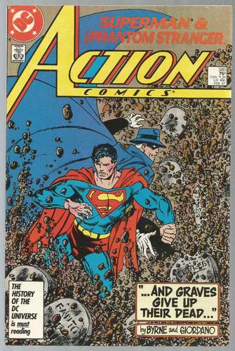 Superman In Action Comics 585 - Dc - Bonellihq Cx30 D19