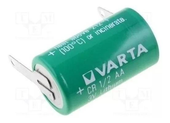 Bateria Varta Cr14250 1/2aa 3v Lithium Com Terminal - Oferta