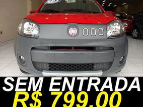 Fiat Uno Way 1.0 Único Dono Completo 2013 Vermelho