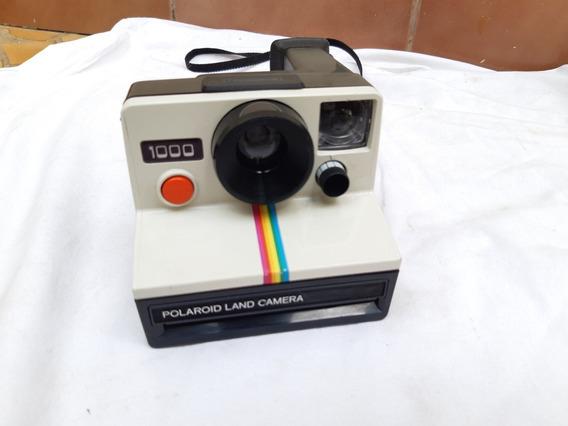 Câmera Analógica Máquina Fotográfica Polaroid 1000 Anos 80