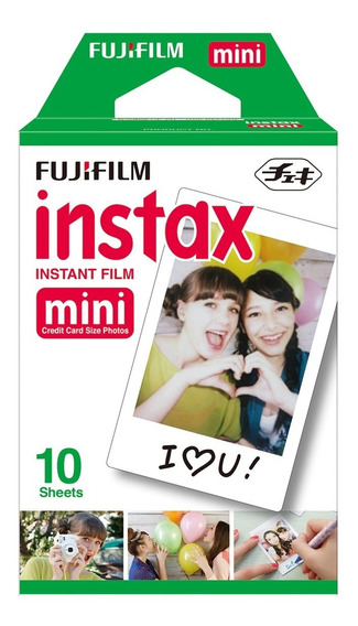 Filme Instax Mini Instant Film 10 Poses