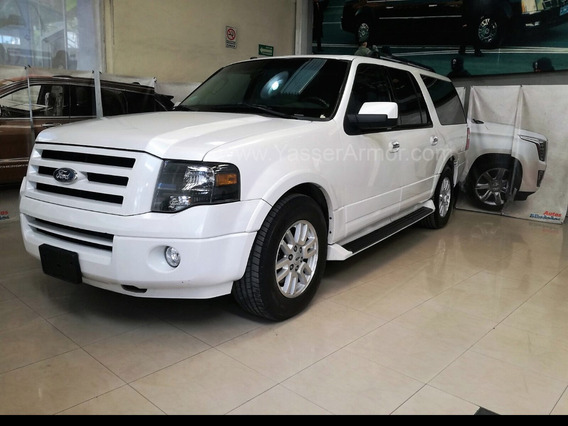 Blindada Ford Expedition Max Limited V8 4x4 Nivel 5 Yasser