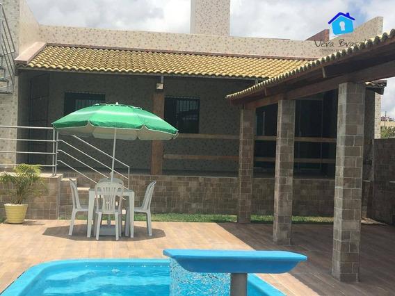 Casa Com 3 Dormitórios À Venda, Por R$ 430.000 - Tabatinga - Conde/pb - Ca0492