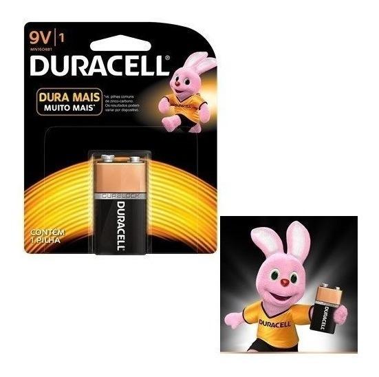 Bateria Duracell Alcalina 9 Volts P/controle Carrinho