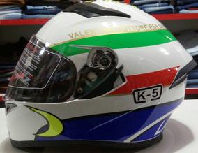 Capacete Valentino Rossi K5 Laureato Com 2 Viseiras