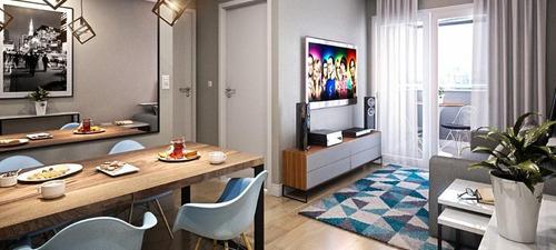 Imagem 1 de 9 de Apartamento Com 2 Dormitórios À Venda, 53 M² Por R$ 313.500,00 - Vila Tibiriçá - Santo André/sp - Ap5694