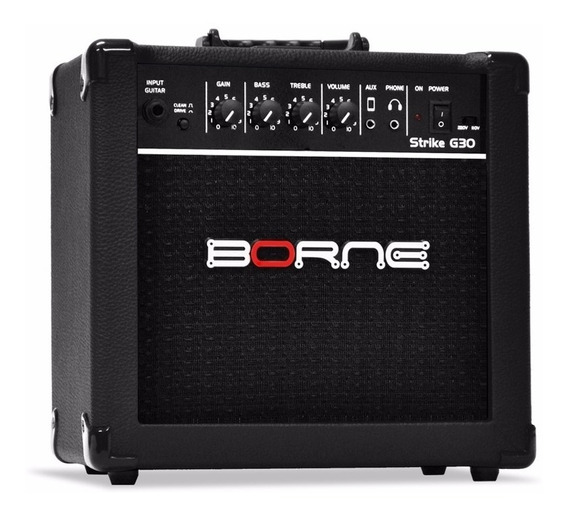 Amplificador Borne Para Guitarra Strike G30 Promoção! Oferta