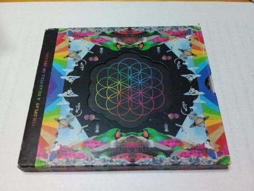 Imagen 1 de 5 de A Head Full Of Dreams - Coldplay - Parlaphone 2015 - Cd - U