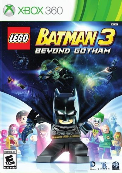 Lego Batman 3 Beyond Gotham Xbox 360 Mídia Física Lacrado