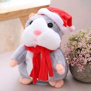 Yuantd Cheeky Hamster Talking Mouse Mascota Navidad Juguete