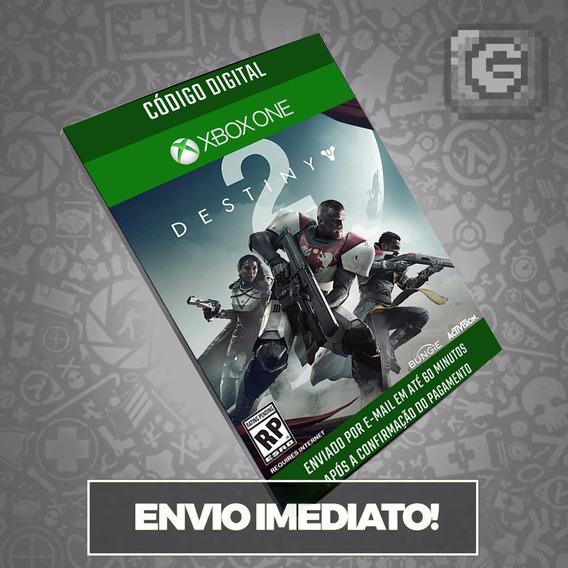 Destiny 2 Xbox One Cartão Usa Código Envio Digital