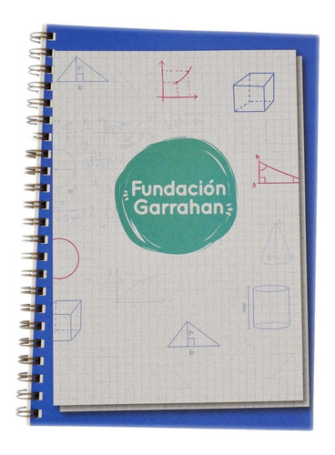 Eco Cuaderno Cuadriculado A4 T. Blanda  Fundación Garrahan E