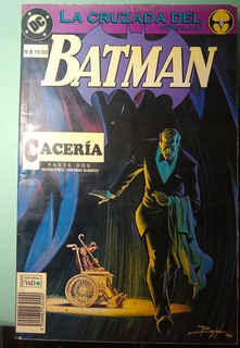 Batman La Cruzada Del Murcielago Caceria #2 Dc Comics