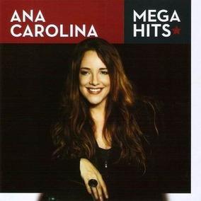 Cd Coletânea Ana Carolina - Mega Hits -