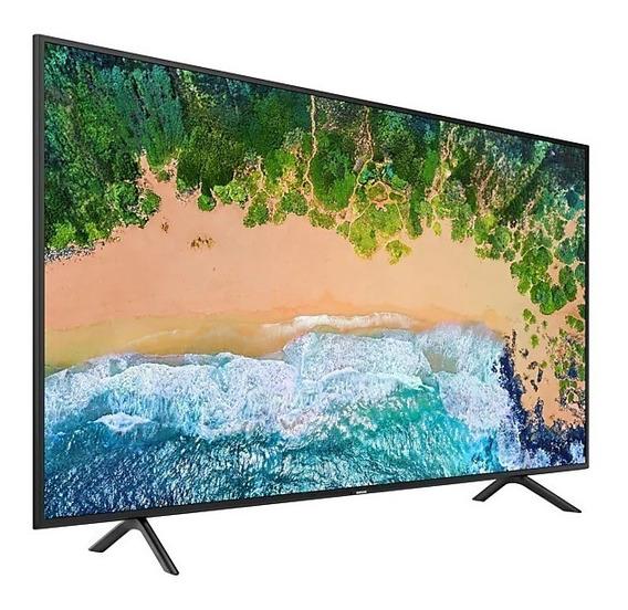 Smart Tv Nu7100 50 Uhd 4k, Visual Livre De Cabos, Hdr Premi