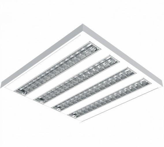 Luminária Teto Alto Rendimento T5 4x14w De Sobrepor G-light