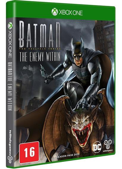Batman The Enemy Within Xbox One Novo, Lacrado, Mídia Física