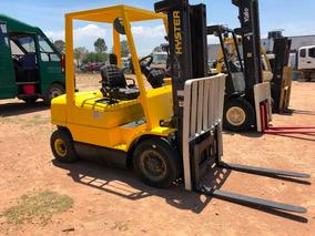 Montacarga Hyster 4,500 Lbs,triplex, Diesel, Neumático