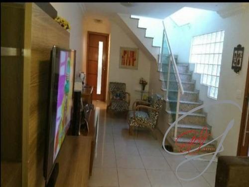 Imagem 1 de 30 de Excelente Sobrada No Bairro Jardim Das Flores - Ca00570 - 69685561