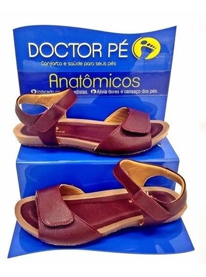 Sandália Doctor Pé Com Velcro 2001