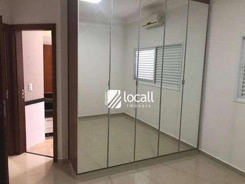 Imagem 1 de 30 de Casa Com 4 Dormitórios À Venda, 335 M² Por R$ 1.500.000,00 - Residencial Gaivota I - São José Do Rio Preto/sp - Ca2068