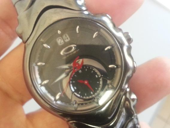 Relógio Oakley Judge Preto (raro E Em Ótimo Estado)