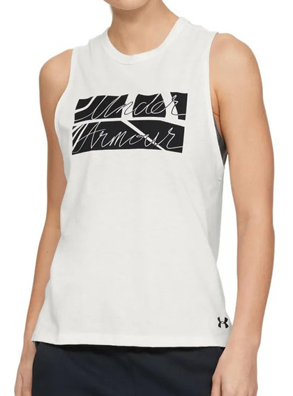 Musculosa Under Armour Graphic Box Script Muscle Mujer Cr