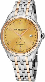 Relógio Masculino Baume & Mercier Clifton Novo Original Top