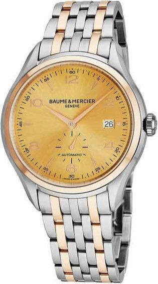 Relógio Masculino Baume & Mercier Clifton Novo Original Top